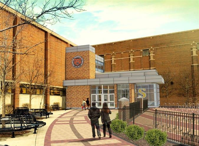 ETHS Entrance 3 rendering