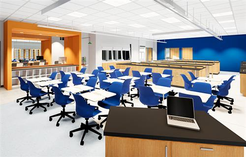 Theory Center rendering