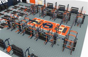 ETHS Wellness Center rendering